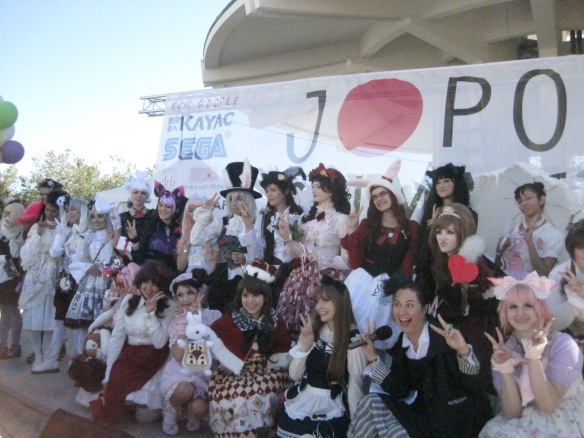 """BABY THE STARS SHINE BRIGHT!"" Fashion Contest at J-Pop Summit 2012 Festival"