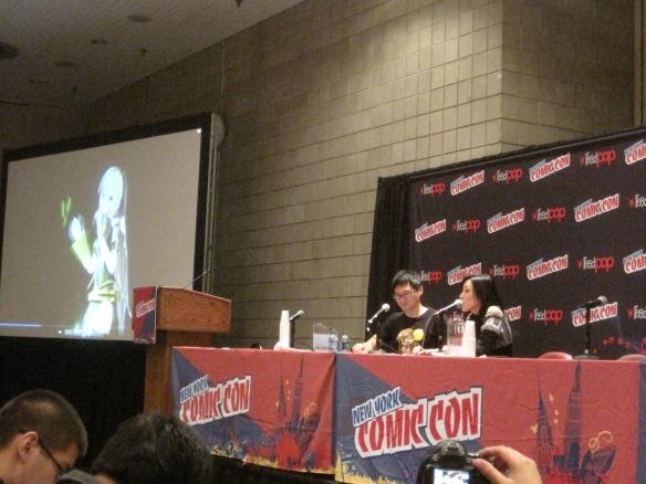 Danny Choo and Yu Asakawa at New York Comic-Con 2012