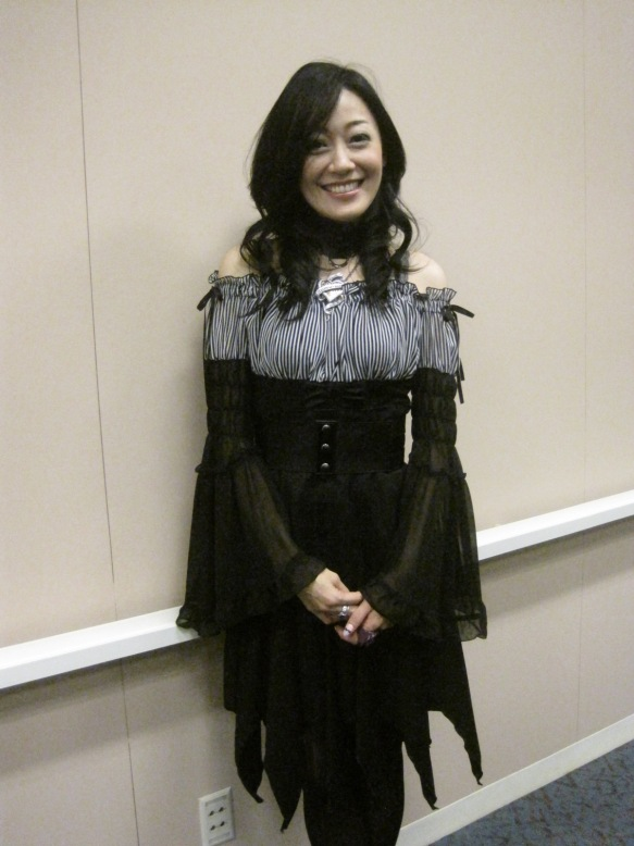 Yu Asakawa at New York Comic-Con 2012
