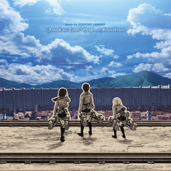 """""""Attack on Titan"""" OST cover."""