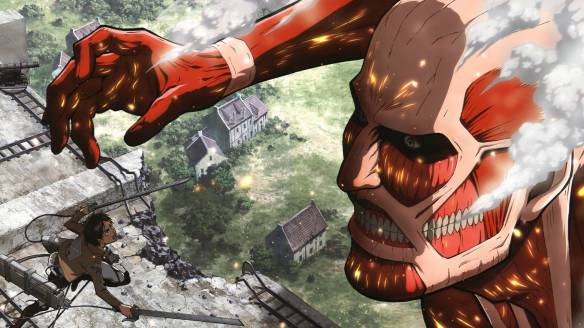 """Attack on Titan"" promotional artwork"