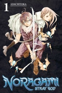 Noragami Volume 1 cover.